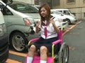 アダルト動画:アクメ車イスで街乗り散策(電マver)